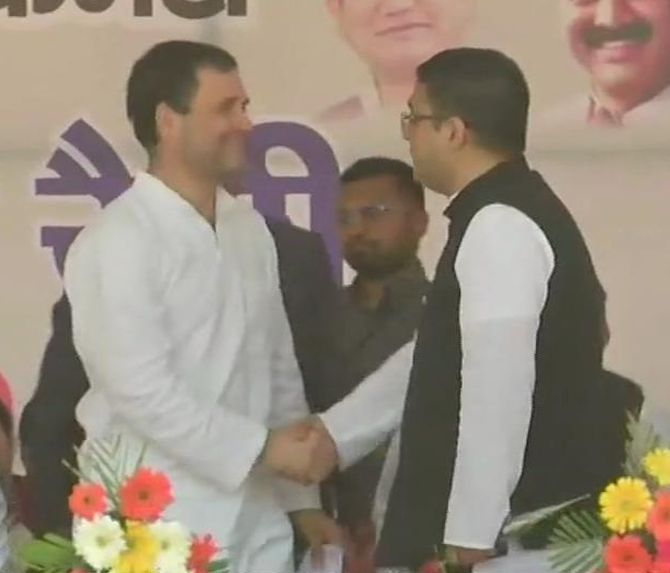 India News - Latest World & Political News - Current News Headlines in India - Ex-U'khand CM and BJP leader B C Khanduri's son joins Congress