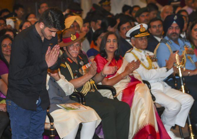 PHOTOS: Prez confers gallantry awards