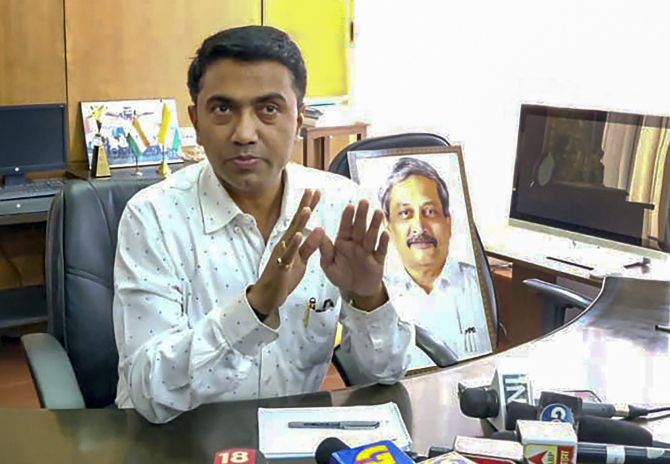 Goa CM Pramod Sawant proves majority in assembly