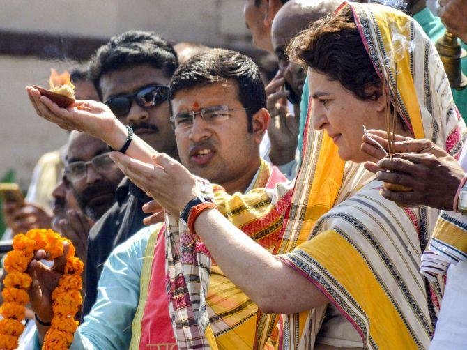 Will Priyanka contest from Varanasi?