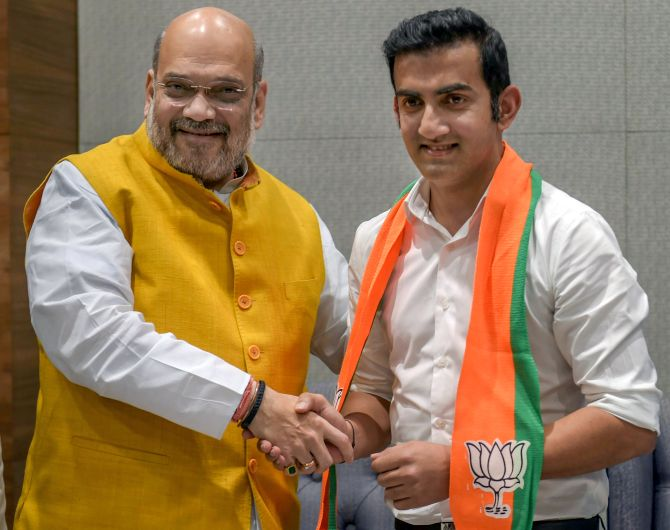 India News - Latest World & Political News - Current News Headlines in India - Gautam Gambhir joins BJP, likely to contest LS polls