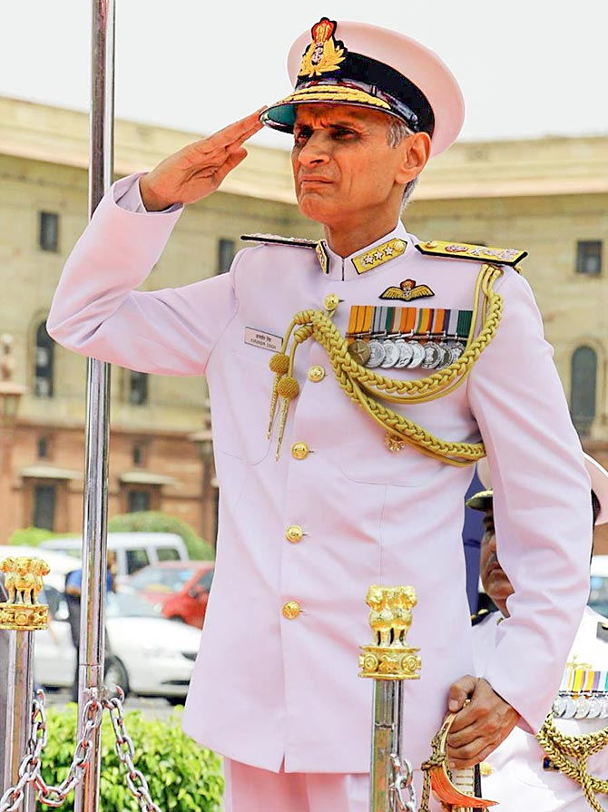 Govt told to give records on new Navy chief selection