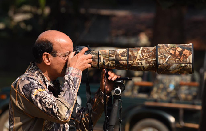 Dr Ramakanta aims to be as good at wielding a camera with a telescopic lens as a scalpel. Photograph: Kind courtesy Dr Ramakanta Panda.