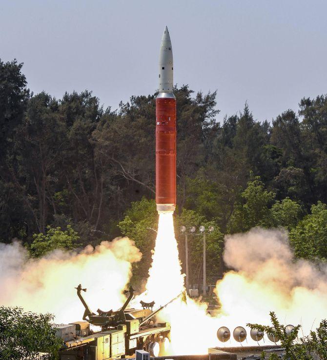 Shakti anti satellite missile of India