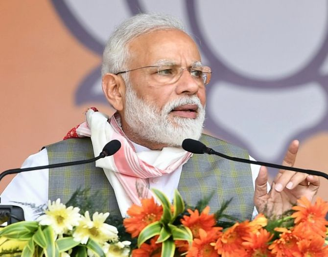 Landmark day for India: PM on CAB passage