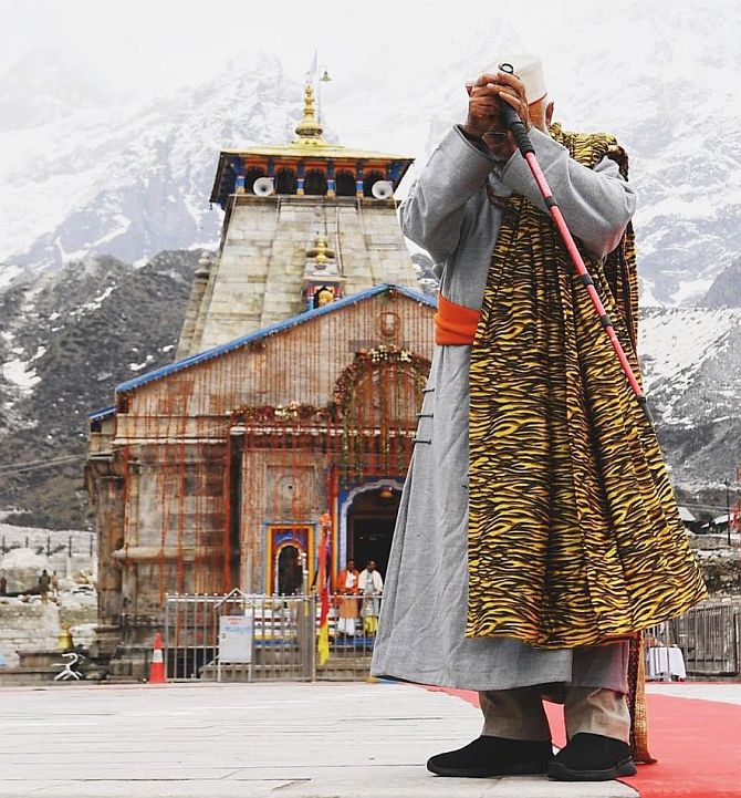 PM thanks EC to grant nod for Kedarnath visit