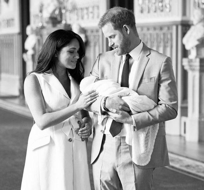 Prince Harry, Meghan Name Their Newborn Son Archie