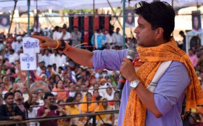 Jyotiraditya Scindia is richest candidate in Phase 6