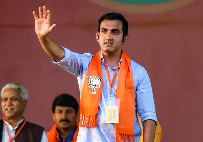 Gambhir contributes 2 years' salary to COVID-19 fund