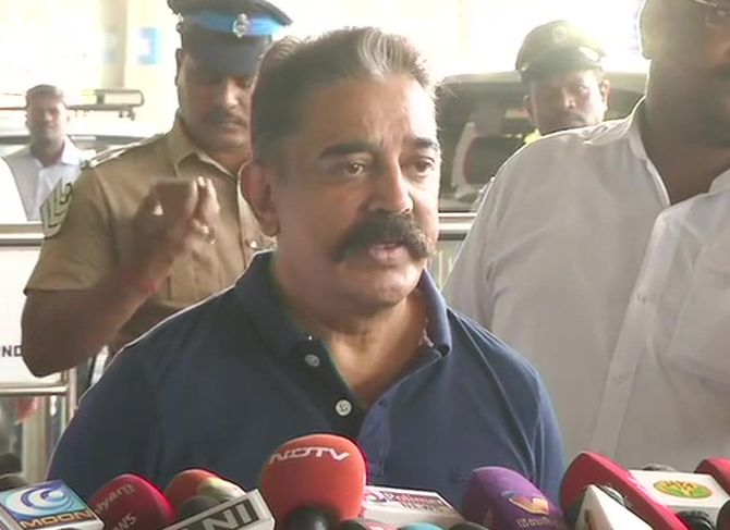 'No Shah or Sultan' should impose Hindi: Haasan