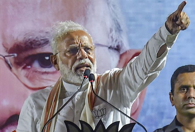 'Modi sees himself as a man of destiny'