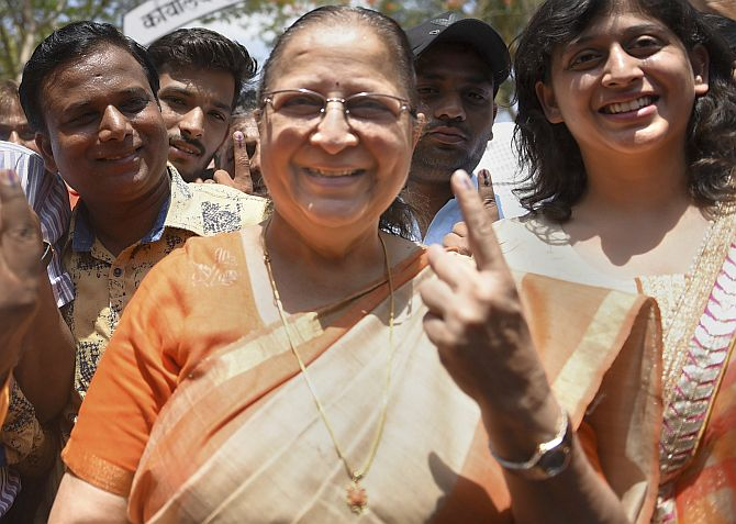 Sumitra Mahajan, Yogi... Biggies cast their vote!