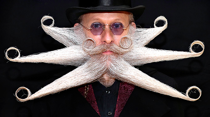 These are some of the weirdest beards in the world!