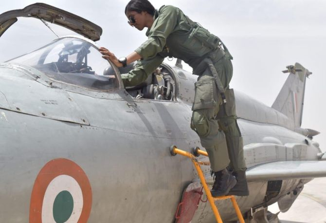 She's 1st woman IAF pilot to undertake missions by day