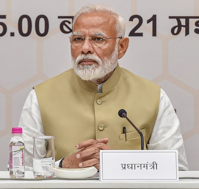 PM concerned over 'needless controversy' on EVMs
