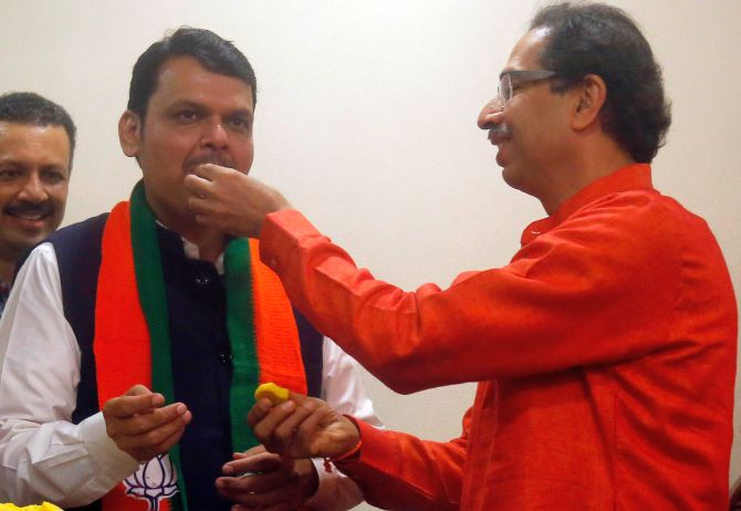 Maharashtra retains saffron as BJP-Sena sweep state
