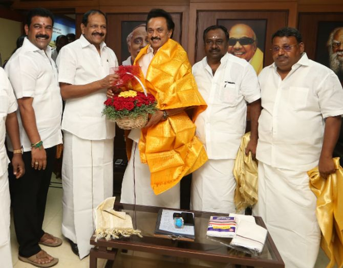 DMK crosses 100 in TN assembly, but govt is safe