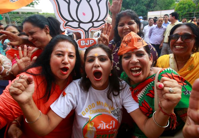Verdict 2019: BJP bags 303 seats, Congress 52