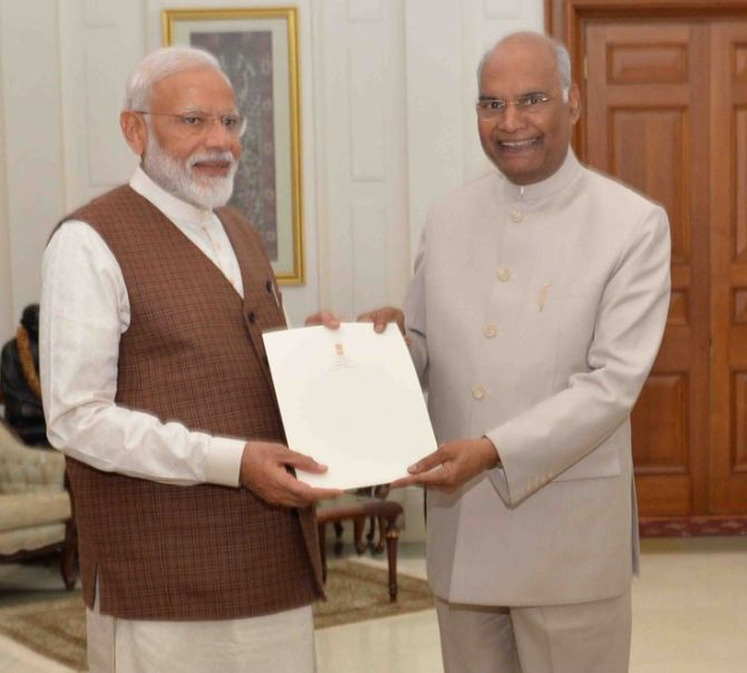 President invites Modi to form government