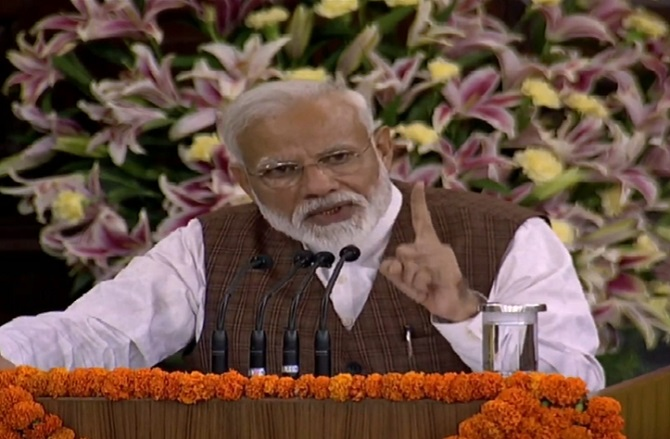 'Work without discrimination': Modi reaches out to minorities