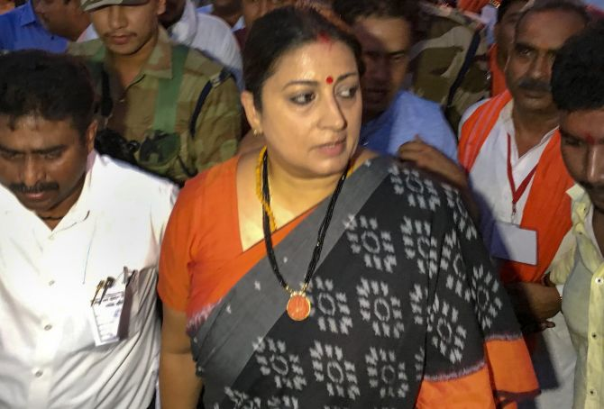 Smriti Irani's close aide shot dead in Amethi