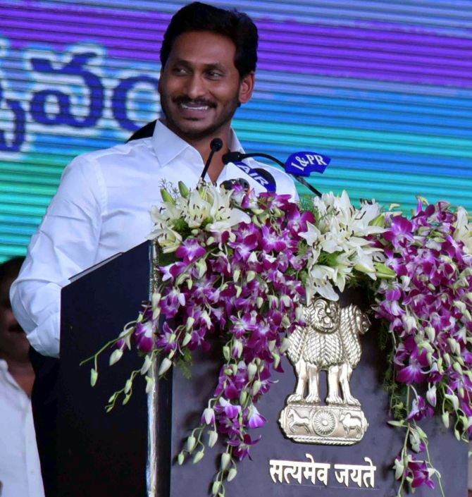 Andhra top cop shunted out as Jagan takes charge as CM