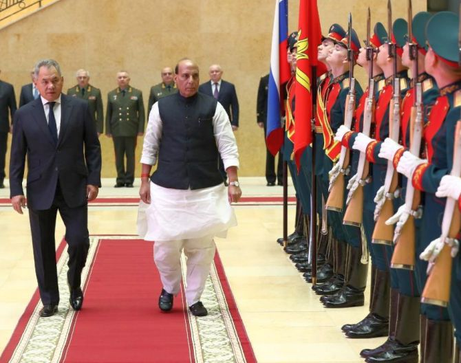 Rajnath to visit Russia to attend Victory Day parade
