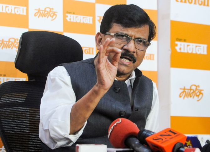 Maha govt led by Sena will be in place by Dec: Raut