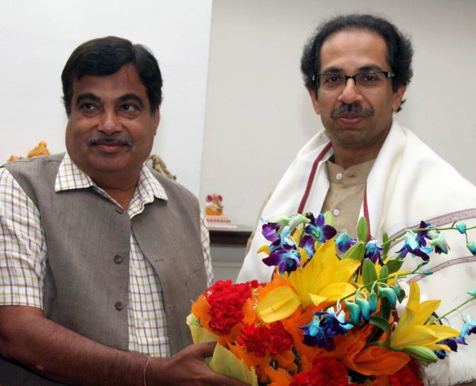 No deal with Sena on sharing CM post: Gadkari