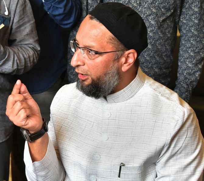 Govt bringing Jinnah alive with CAB: Owaisi