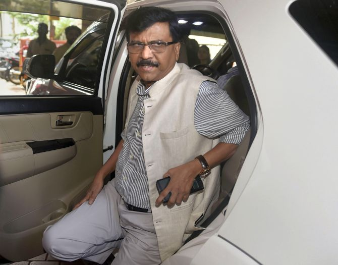 Next CM from Sena: Raut after discharge from hospital
