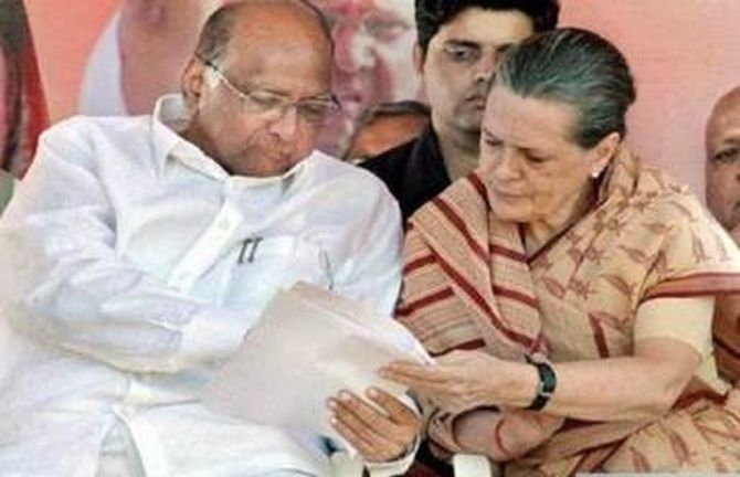 Sonia authorises 3 leaders to hold talks with NCP