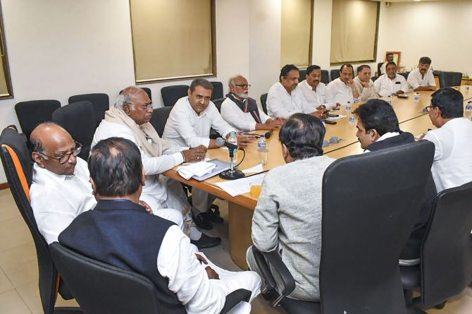 Congress-NCP go into a huddle over common programme