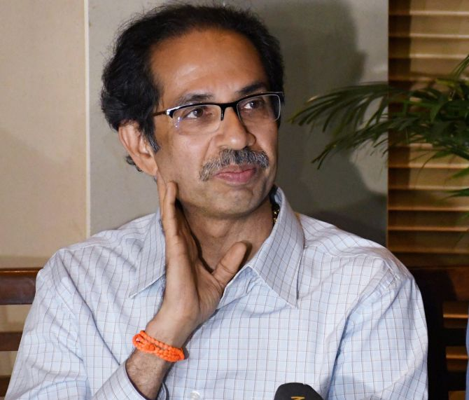 Uddhav says talks with Cong in 'right direction'