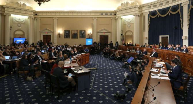 US House begins impeachment hearing against Trump