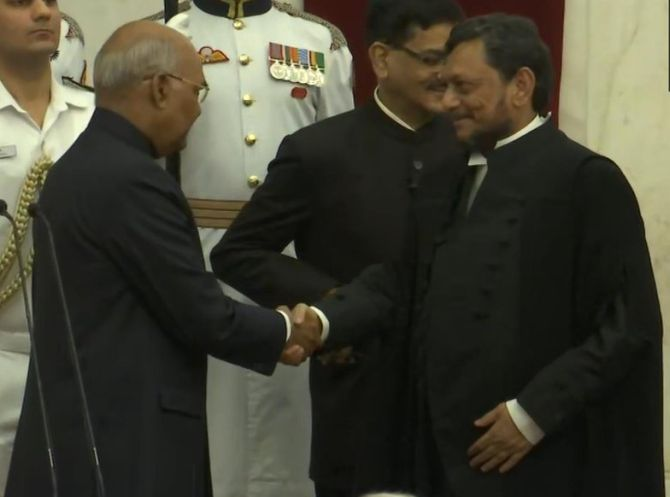 Justice Bobde takes oath as next CJI