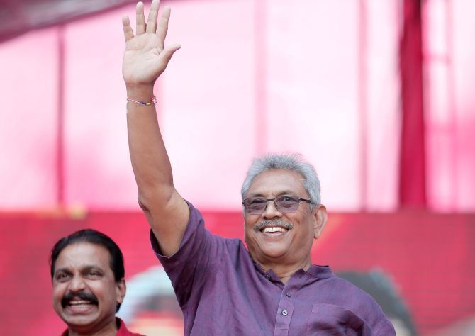 Gotabaya Rajapaksa: 'War hero' who ended LTTE conflict