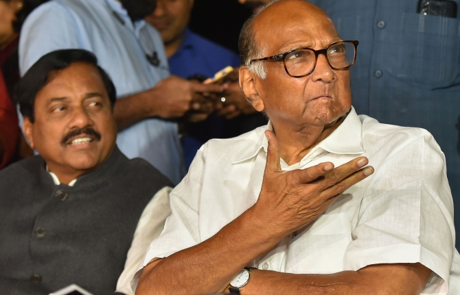 No talk on govt formation: Pawar on Sonia meeting