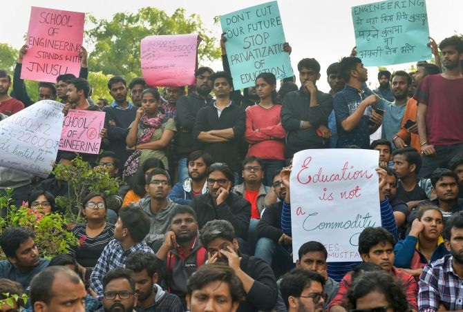 JNU moves HC against students; Police file FIRs