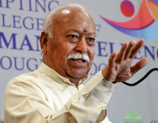 Selfishness is bad: RSS chief on BJP-Sena fallout