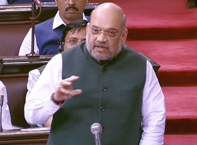No curfew, everything normal in Kashmir: Amit Shah