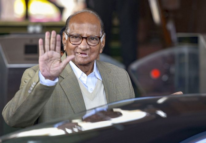 Amid logjam on Maha govt formation, Pawar meets Modi