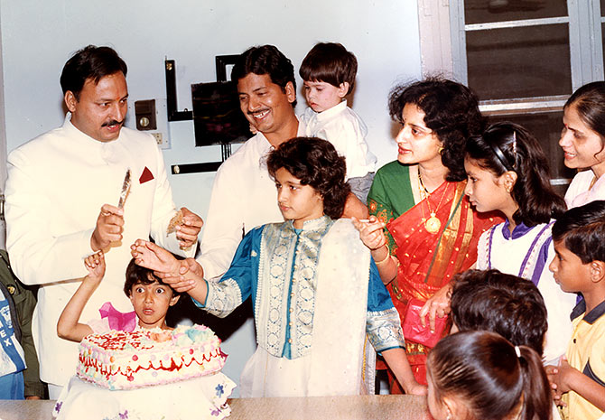 The Karkare family