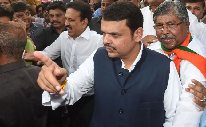 Fadnavis govt tapped Oppn leaders' phones: Maha HM