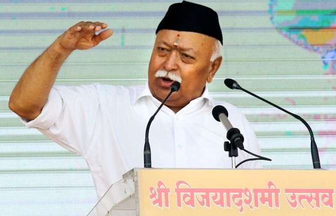 RSS doesn't want to be another power centre: Bhagwat