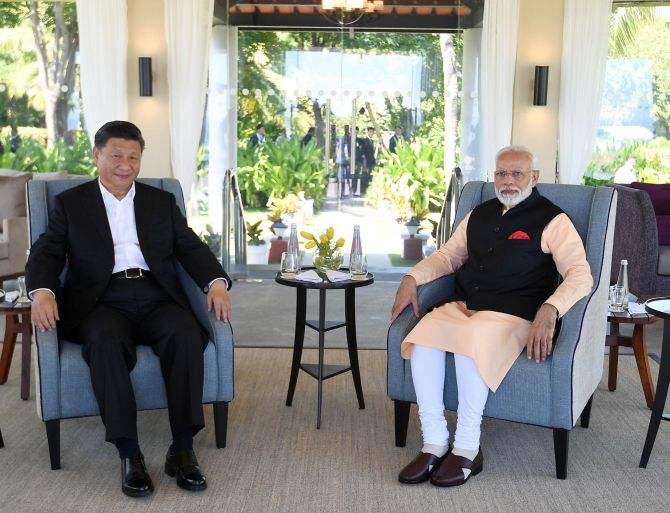 Mr Xi: When will you return China occupied Ladakh?