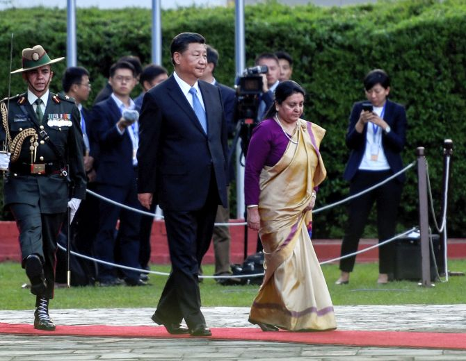 Attempt to split China will be 'crushed': Xi in Nepal