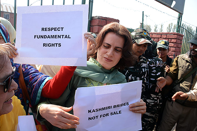 Farooq's sister, daughter detained during J-K protest