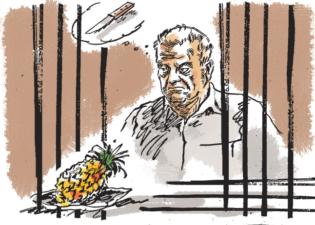 Sheena Bora Case: How will Peter eat fruit?