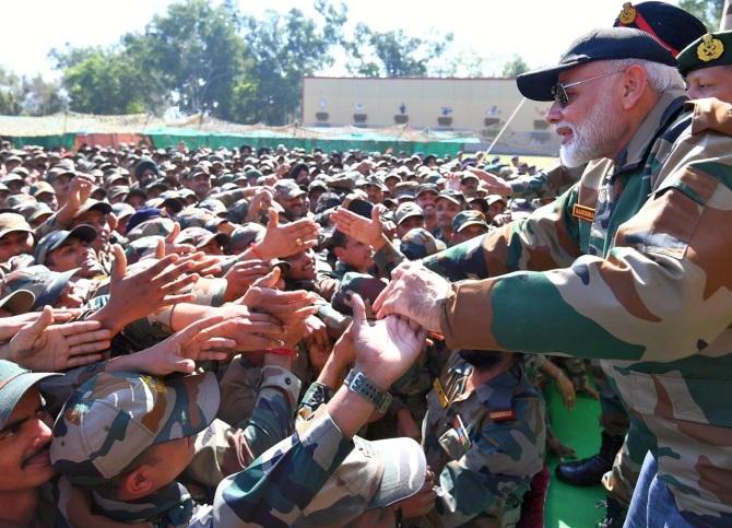 Light a diya as salute to soldiers: PM Modi